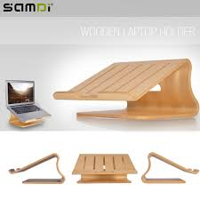 mac laptop holder for desk samdi protable wooden laptop holder wood radiator stand support desk