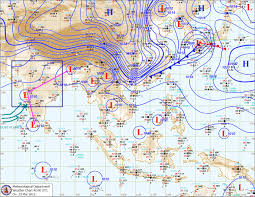 India Weather Map by Metd Weather March 2012