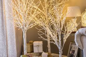 artificial birch trees with lights 1 niagara falls pre lit trees led tree rentals niagara falls