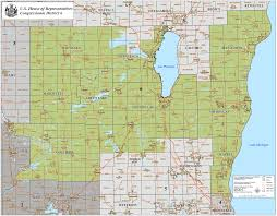 Green Lake Wisconsin Map by District Map Glenn Grothman For Congress
