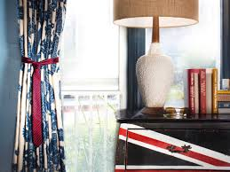 how to tie curtains how to use neckties as curtain tiebacks hgtv