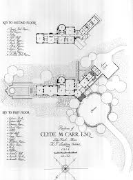 Gilded Age Mansions Floor Plans Half Pudding Half Sauce Residence Clyde M Carr Lake Forest Ill