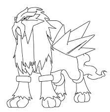 pokemon coloring pages entei farainsabina info