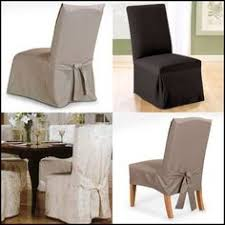 Luxury Dining Chair Covers Casual Linen Parson Chair Slipcover Think A Embroidered Monogram