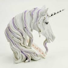 small white harmony unicorn figure ornament