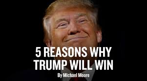 Victory Meme Face - 5 reasons why trump will win michael moore