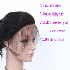 how to make baby hair 36c wave glueless lace front human hair wigs remy hair