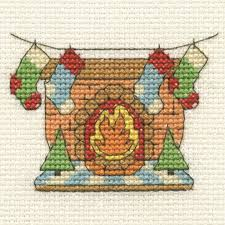 Stocking Designs by Dmc Mini Cross Stitch Kit Christmas 16 Designs Santa Snowman
