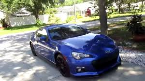 subaru sports car brz 2015 my 2015 subaru brz series blue youtube