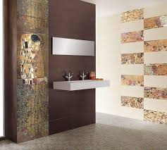 Bathroom Wall Tiles Tile Bathroom Wall Orange Accent Bathroom - Bathroom wall tiles designs