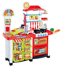 ct toys multimedia kitchen fast food center playset pretend play