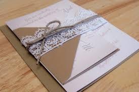 wedding invitations gauteng rustic country lace wedding invitations ipunya