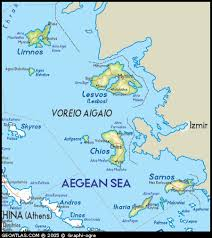 islands map map of agean islands maps of greece tourizm maps of the