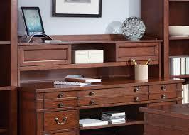 keystone jr executive desk with poplar solids u0026 cherry veneers in