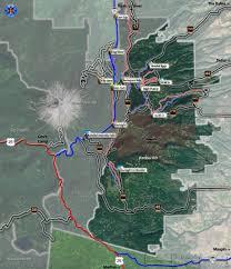 Mt Hood Trail Map Barlow Ranger District Mountain Bike And Hiking Trails