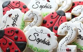 ladybug cookies ladybug birthday party cookies birthday cookiesladybug