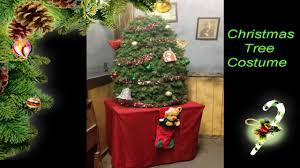 christmas tree costume youtube