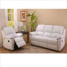 Sofa Recliner Leather Spelndid White Leather Reclining Sofa Bedroom Ideas