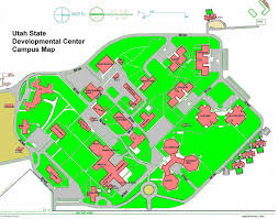 Ut Campus Map Contact Utah State Developmental Center