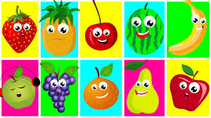 ten in the bed fruits nursery rhymes for kids learn fruits songs
