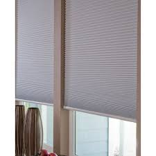 Blackout Blinds Walmart No Tools Easy Lift Trim At Home Cellular Blackout Shade White