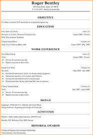 Resume Examples For College Students Engineering by Freshman College Student Resume Berathen Com