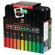 prismacolor marker set markers prismacolor markers 48 color set truemarkercolors