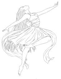coloring pages ballerina 4914