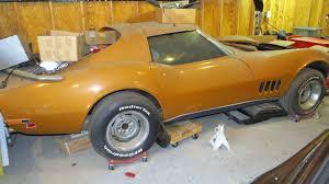 florida orange 1969 chevrolet corvette project