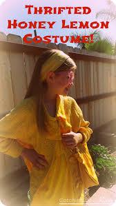 my daughter u0027s diy honey lemon costume for super hero day made
