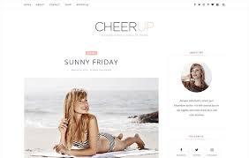 cheerup responsive minimal blogger blogger templates 2017