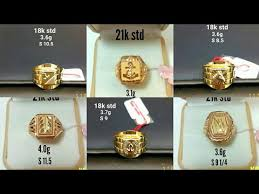 mens gold ring men s gold ring collection with weight and size ring designs for