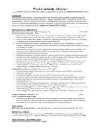 Mechanical Production Engineer Resume Download Manufacturing Test Engineer Sample Resume