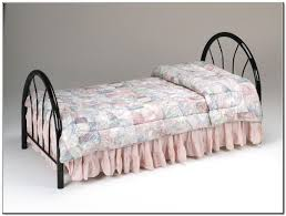 furniture modern looks of twin metal bed frame to decorate our