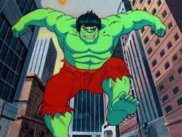 incredible hulk cartoon scrapbook