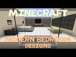 Minecraft Bedroom Ideas Minecraft Modern Bedroom Designs Minecraft Pinterest