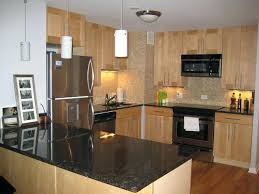 natural maple cabinets with granite natural maple cabinets with black granite countertops basement