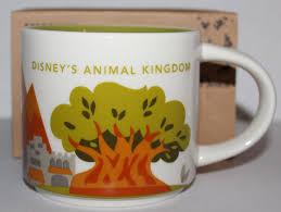 animal kingdom starbucks you are here collection coffee mug