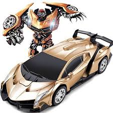 ferrari transformer gomerrykids big size 1 16 transformer rc ferrari car robot remote