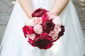 Peony Bouquet Wedding Flower Ideas For Outdoor Weddings
