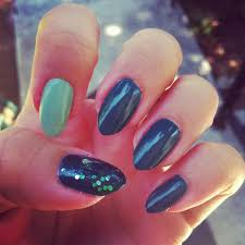 purple teal nails with design tag archives grey nails nails
