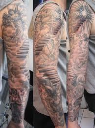 and cloud sleeve tattoos for amazing