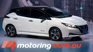 nissan leaf next generation all new nissan leaf unveiled in tokyo motoring com au youtube