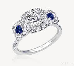 sapphire accent engagement rings exceptional sapphire engagement rings for brides