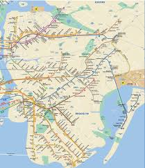 Subway Nyc Map Ny Subway Map Queens My Blog