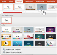 change or remove a theme office support