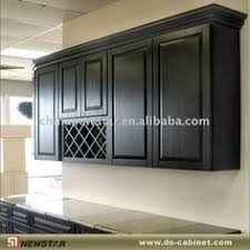 Kitchen Wall Cabinet New Windsor Wall Cabinet Display With Wine Rack Kitchen Cabinet
