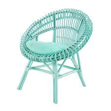 couleur vert celadon fauteuil en rotin vert d u0027eau smoothie maisons du monde