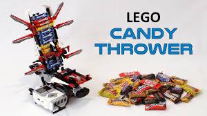 lego halloween candy thrower youtube