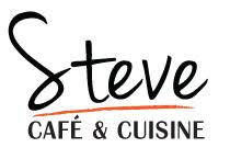 logo de cuisine steve café and cuisine is original food style